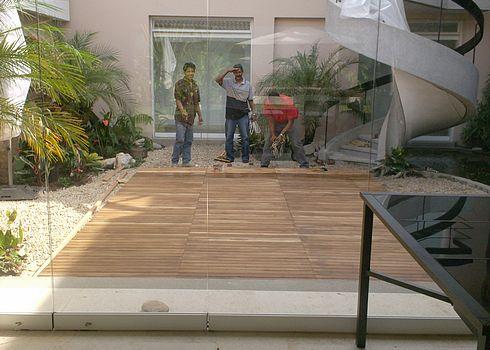 Piscinas total lujo y confort en piscinas jacuzzis - Fuentes para terrazas pequenas ...