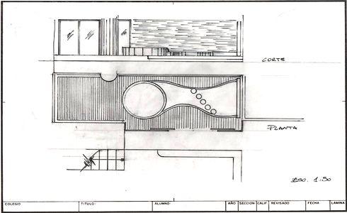 Dise o proyecto y construcci n de piscinas for Planos para alberca