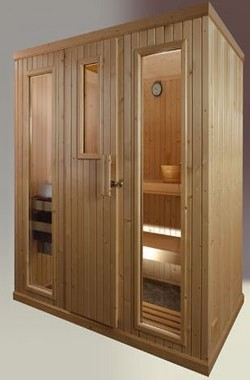 Sauna en Madera