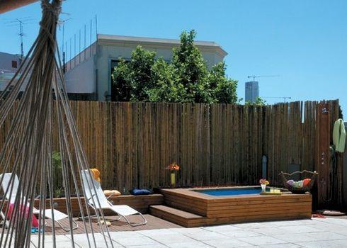 Deck de madera para terrazas - Jacuzzi para terrazas ...