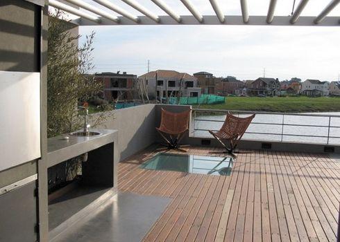 Deck de madera para terrazas for Dec para terrazas