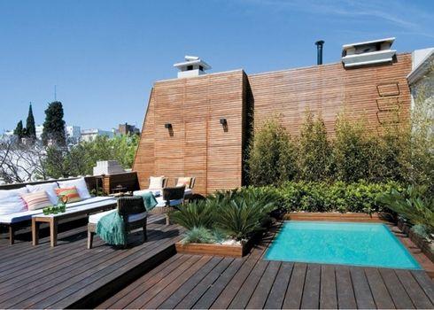 Jardines terrazas piscinas exteriores p gina 12 for Piscinas para terrazas